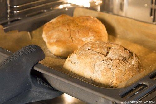 Il pane cotto in forno