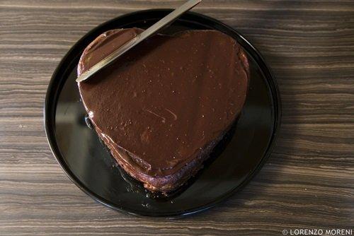 La copertura con il cioccolato