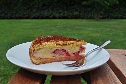 Torta-di-ricotta-e-fragole- blog-uno-chef-per-gaia