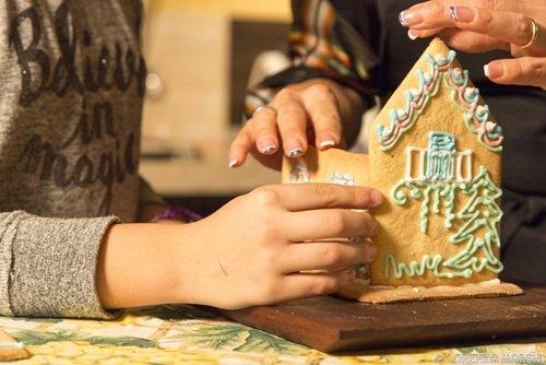 Casetta Di Natale Con Biscotti : Casa di biscotto ricetta natale
