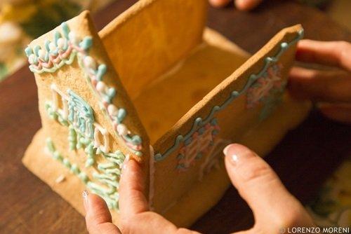 Casetta Di Natale Con Biscotti : Idee per natale: casette di biscotto uno chef per gaia