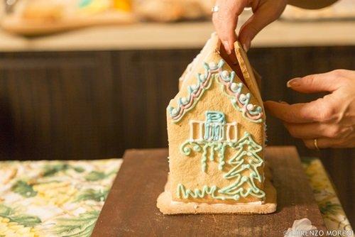 Casetta Di Natale Con Biscotti : Casetta di dolcetti in feltro creazioni nico