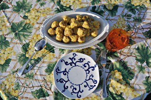 polpettine-di-tacchino-allo-zafferano-senza-glutine-uno-chef-per-gaia