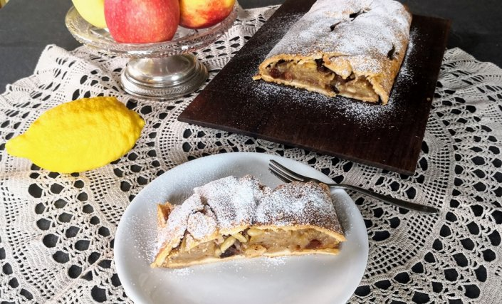 Strudel di mele sugar light