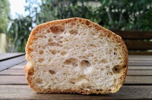 L'interno dei panini