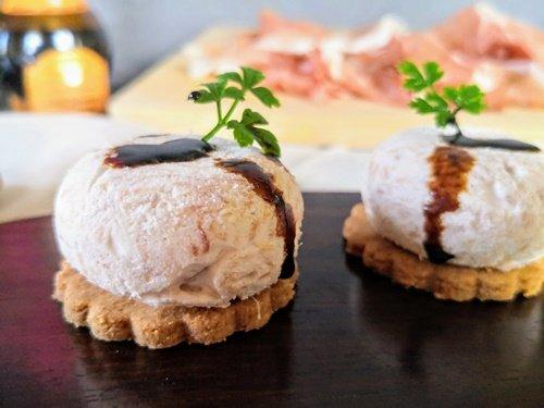 Il biscotto e la mousse: perfetti finger food