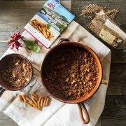 Pasta di legumi con lenticchie di Rascino