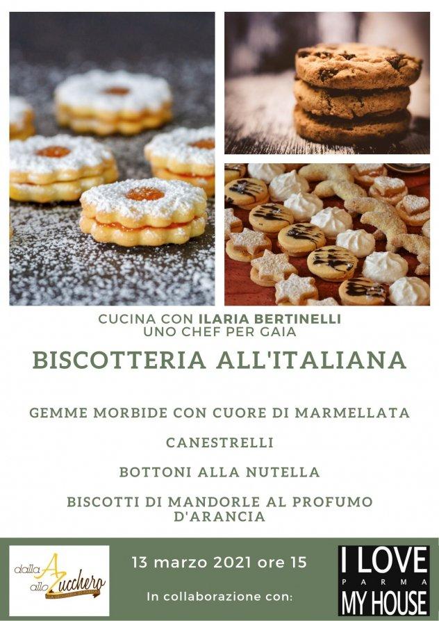 Volantino biscotteria all'italiana