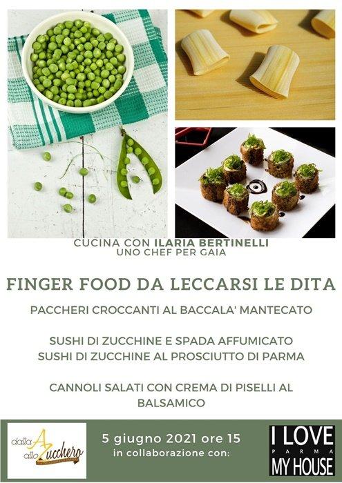 Finger food da leccarsi le dita