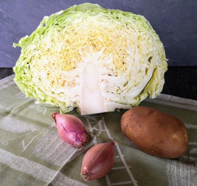 Le verdure della zuppa