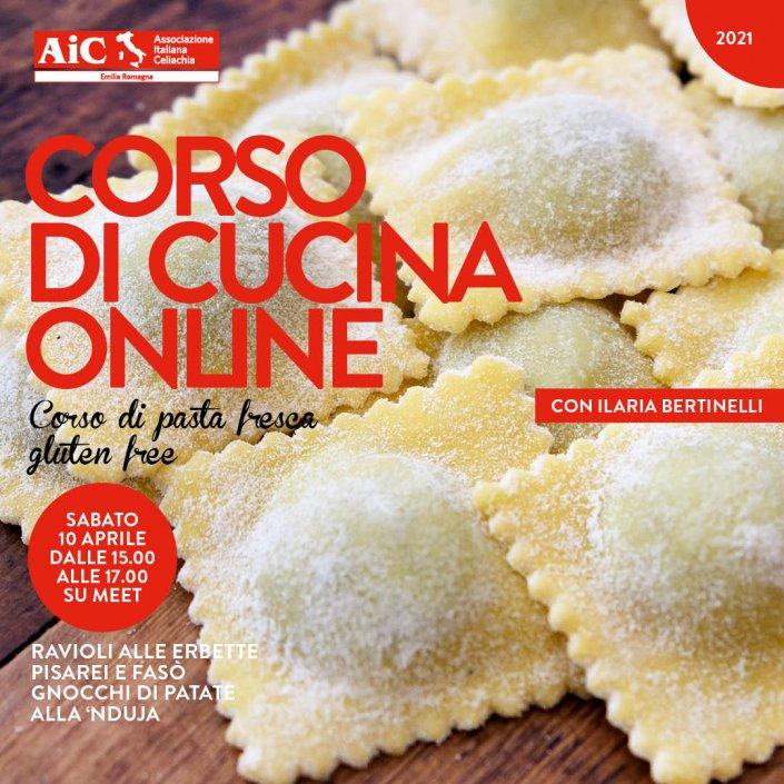 Corsi di Cucina online FB 10 APRILE